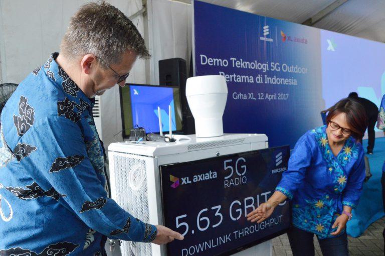 XL Persiapkan Penerapan Teknologi 5G di Indonesia Lebih Dini