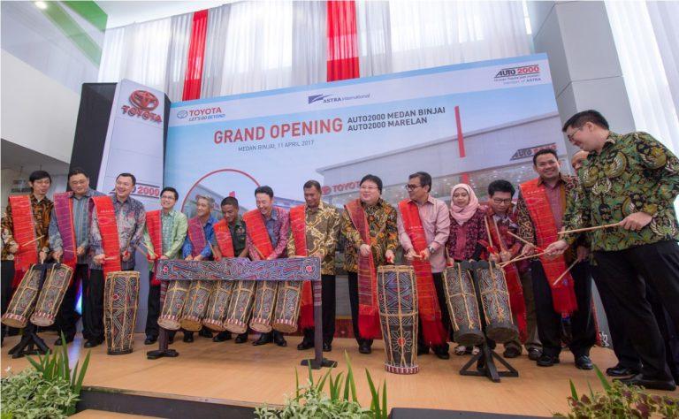 Manjakan Pelanggan Wilayah Sumatera Utara, Auto2000 Buka Dua Cabang Di Medan