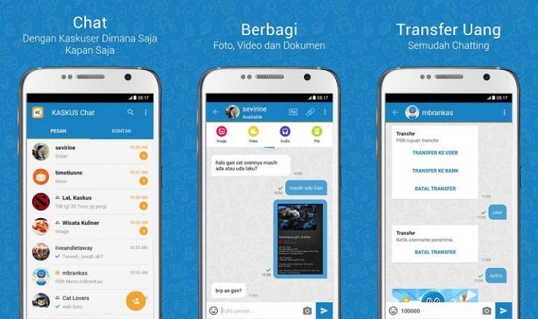 Sajikan Kenyamanan Komunikasi Bagi Kaskuser, KASKUS Perkenalkan KASKUS Chat