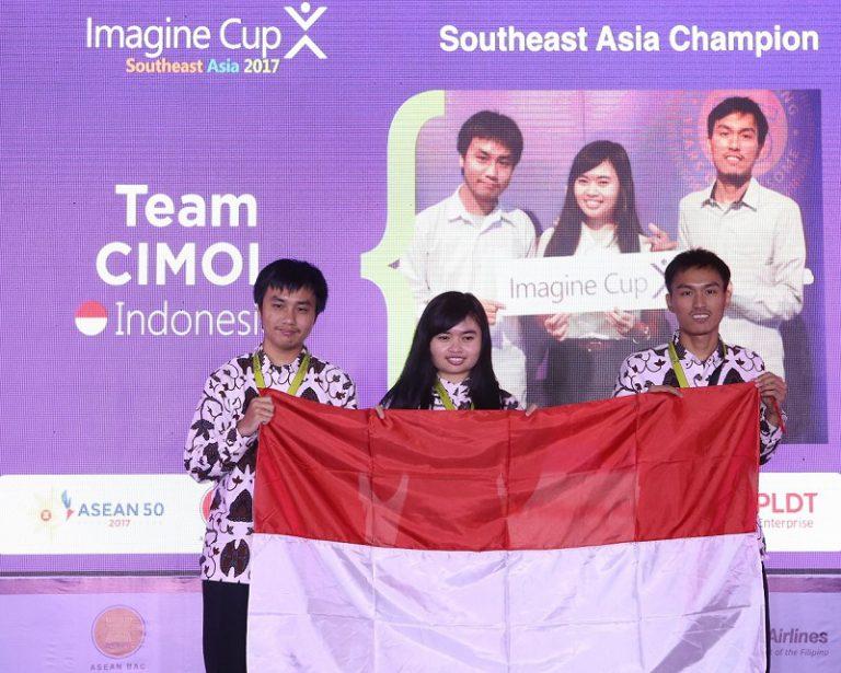 Selamat! Tim CIMOL Melenggang ke Final Imagine Cup Tingkat Dunia