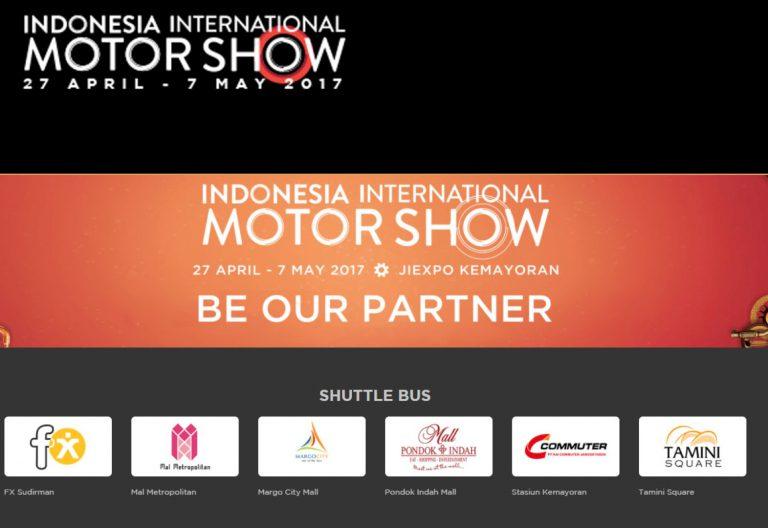 IIMS 2017 Dibuka, Ini Lokasi Shuttle Bus Gratis Menuju JI Expo Kemayoran
