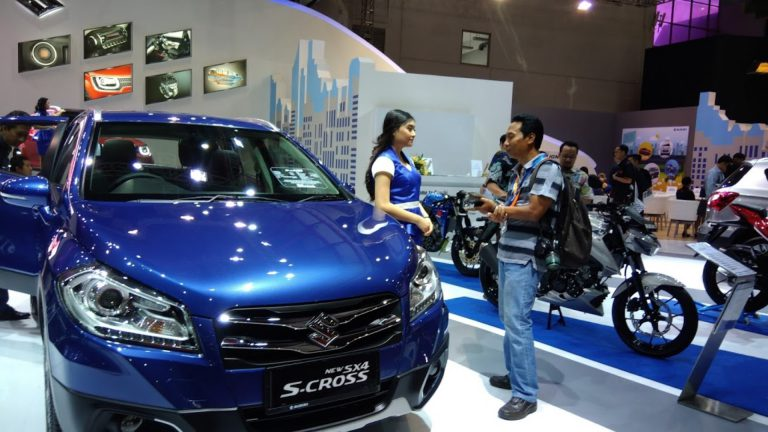 Sampai Hari Ke-3, Booth Suzuki Telah menerima Lebih dari 57.000 Pengunjung