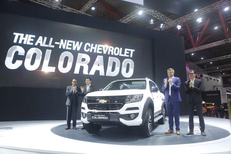 The All New Chevrolet Colorado: Truck Pickup untuk Berbagai Gaya Hidup Dirilis di IIMS 2017