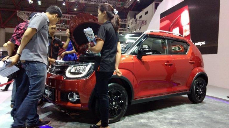 Jadi Kembang IIMS 2017, Test Drive Suzuki IGNIS Membludak