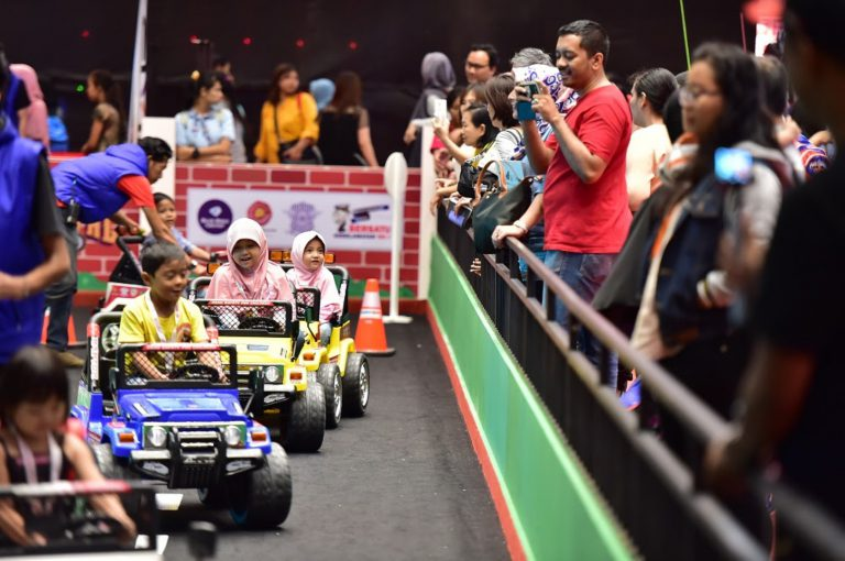 Hingga Hari Minggu, Road Safety for Children Sudah Terbitkan 1.380 SIM untuk Anak-Anak