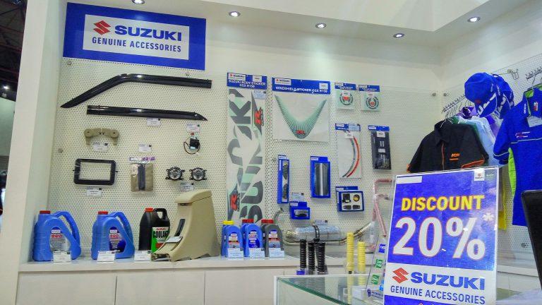 Suzuki Berikan Diskon Spesial 20% Untuk Aksesori dan Merchandise