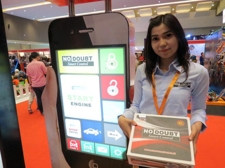 Alarm Pintar Berlabel No Doubt Smart Control, Bisa Pantau Mobil Dari Jauh
