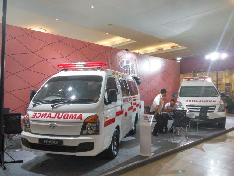 Lewat Line-Up H100 dan Starex Mover, Hyundai Tampilkan Versi Ambulans