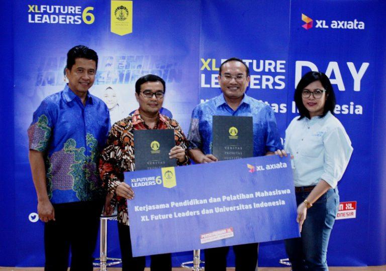 Gandeng UI, XL Axiata Jalin Kerja Sama Pendidikan & Pelatihan Mahasiswa