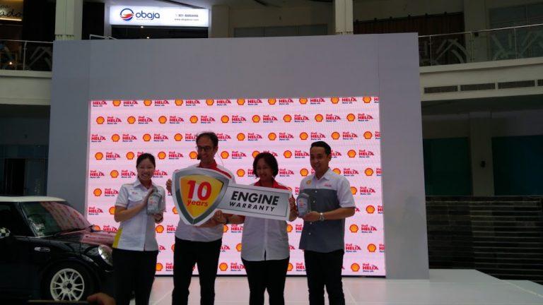 Shell Luncurkan Shell Helix Extended Warranty, Beri Jaminan Mesin Hingga 10 Tahun