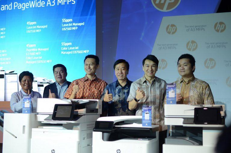 HP Perkenalkan Printer Multifungsi A3 Generasi Terbaru