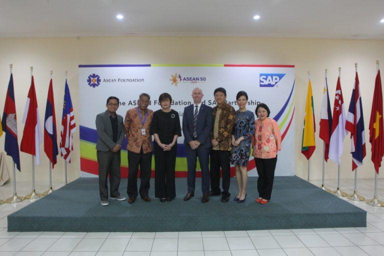 SAP Bermitra dengan ASEAN Foundation untuk Berdayakan Kaum Muda