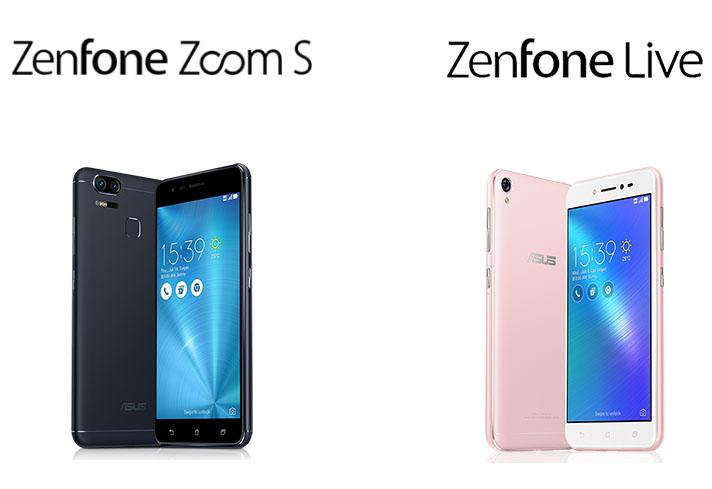 16 Mei 2017: Asus ZenFone Zoom S dan ZenFone Live Akan Meluncur di Indonesia