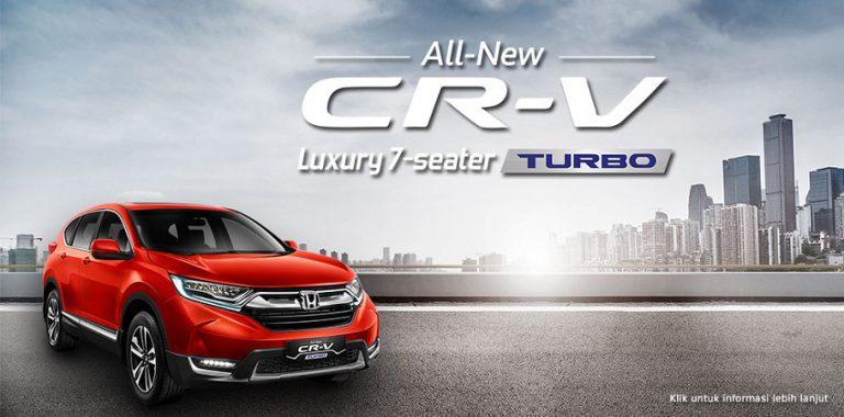 Honda Boyong All New Honda CR-V ke Ajang GIIAS Makassar Auto Show 2017