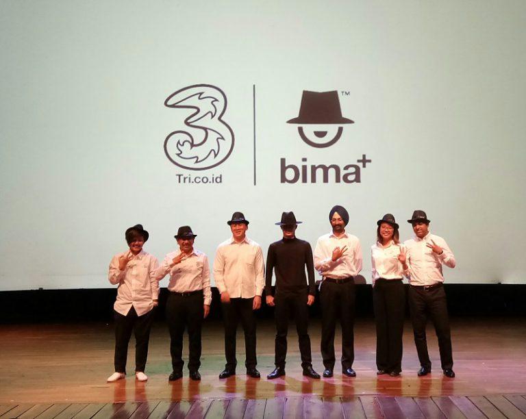 Tri Rilis bima+, Creative Hub untuk Anak Muda Kreatif di Tanah Air