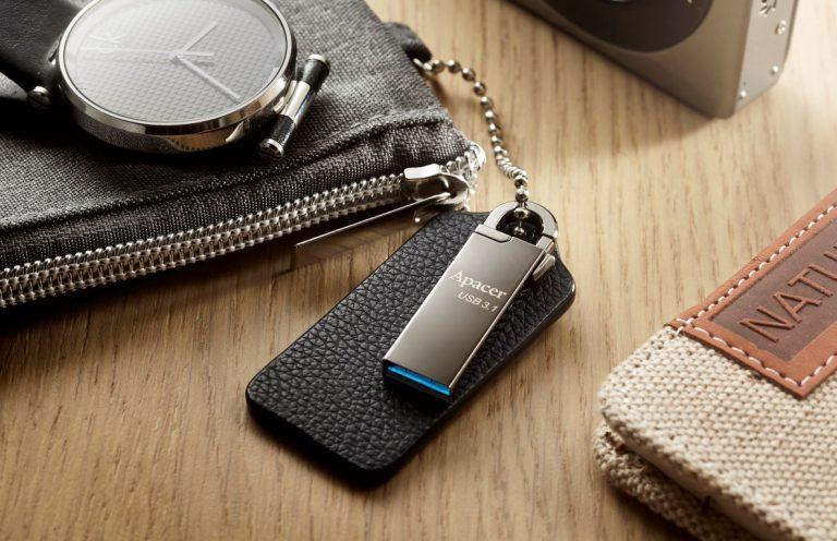 Apacer Perkenalkan USB Flash Drive dengan Pengait Serba-Guna