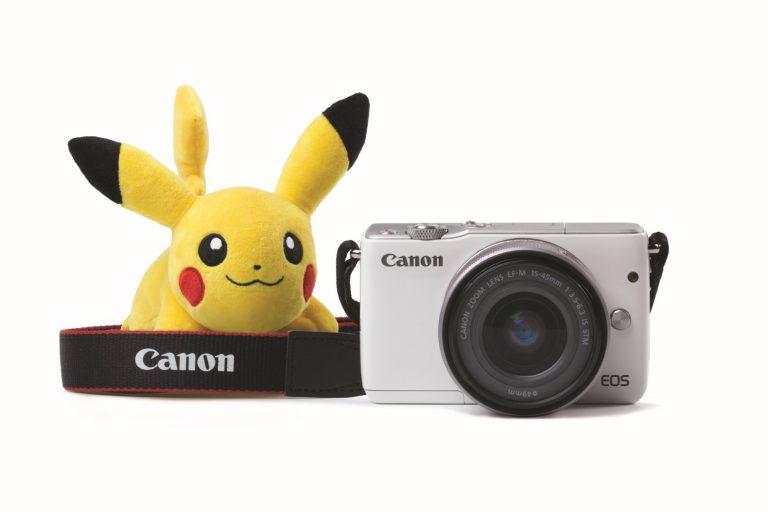 Canon Berkolaborasi dengan Pokemon dalam kemasan Khusus EOS M10