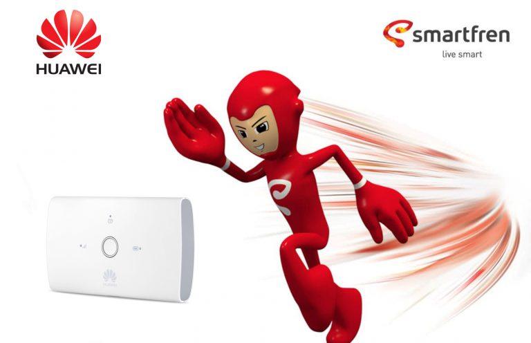 Huawei dan Smartfren Bekerjasama untuk Sediakan Jaringan 4G Smartfren di Mifi Huawei E5673