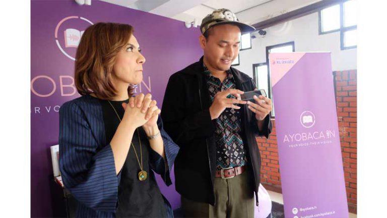 Kerjasama XL Axiata & Ayobaca.in Ciptakan Buku Audio untuk Penyandang Difabel