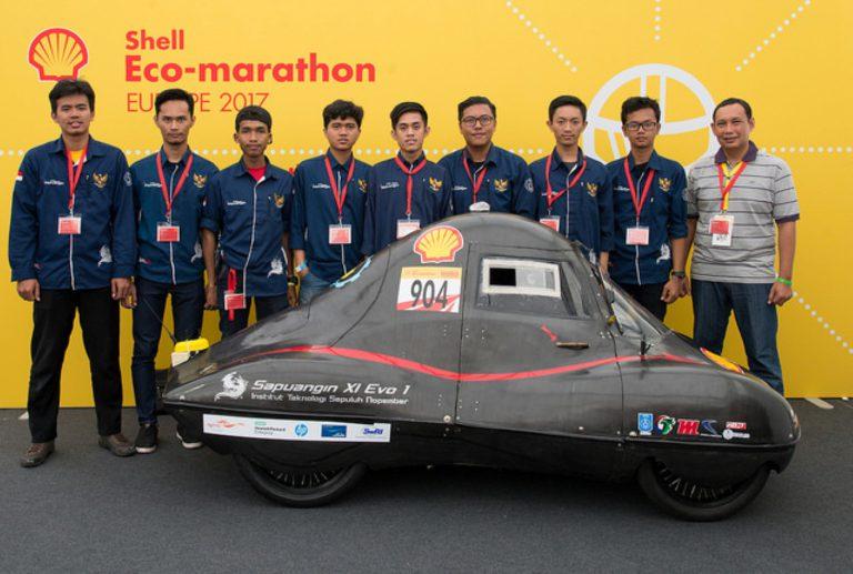 Faktor Cuaca, Tim Indonesia Gagal Raih Posisi Puncak di Ajang Shell Eco Marathon DWC di London