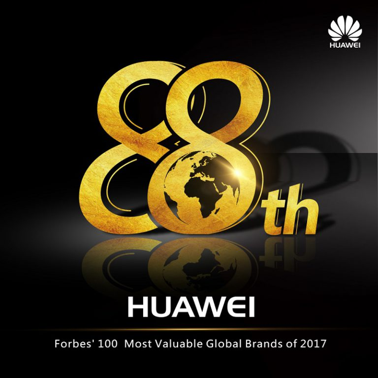 "Huawei Tembus Daftar ""The Most Valuable Brands 2017"" dari Forbes"
