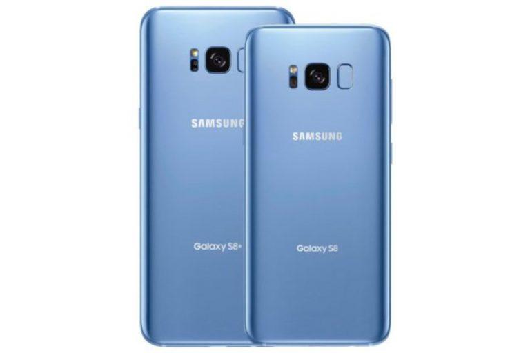 Warna Coral Blue Ini Bikin Galaxy S8 dan S8 Plus Tambah Stylish
