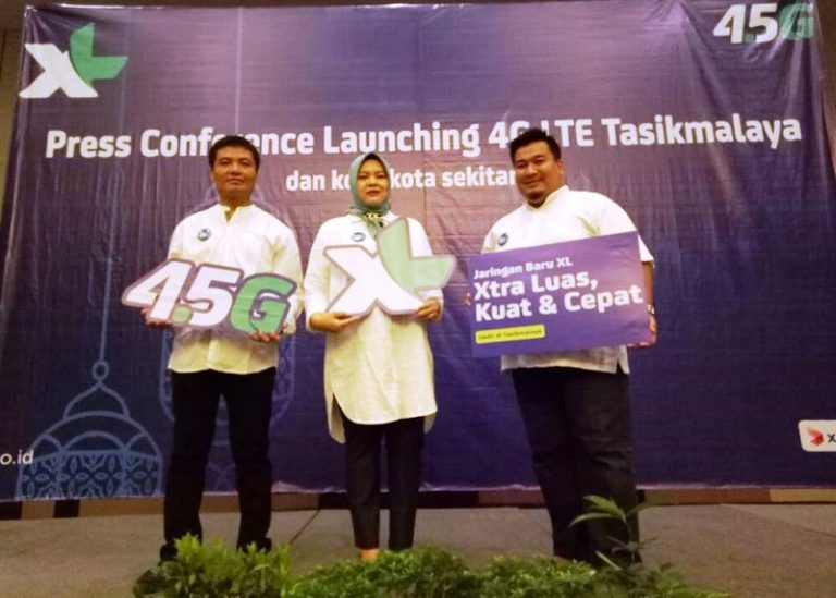 Layanan 4G Milik XL Axiata Sambangi Kota Tasikmalaya dan Sekitarnya