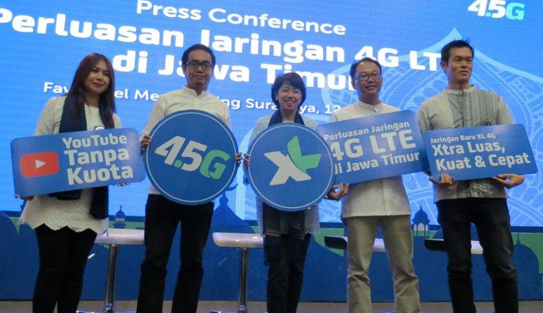 Perluas Layanan, 22 Kota/Kabupaten di Jawa Timur Kini Bisa Nikmati 4G XL Axiata
