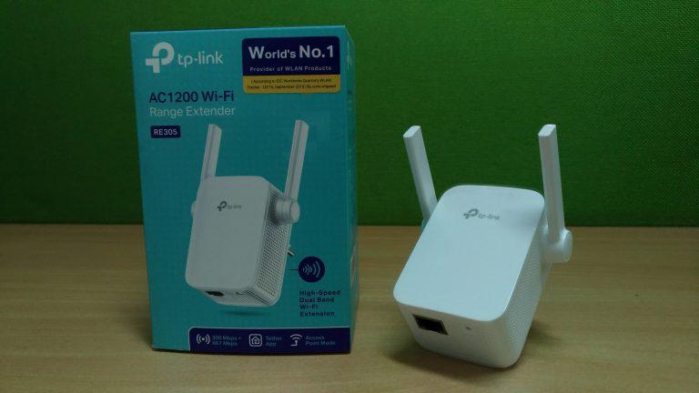 Review TP-Link RE305 Wi-Fi Range Extender: Tidak Hanya 2.4 GHz, Tetapi Juga Dukung 5 GHz