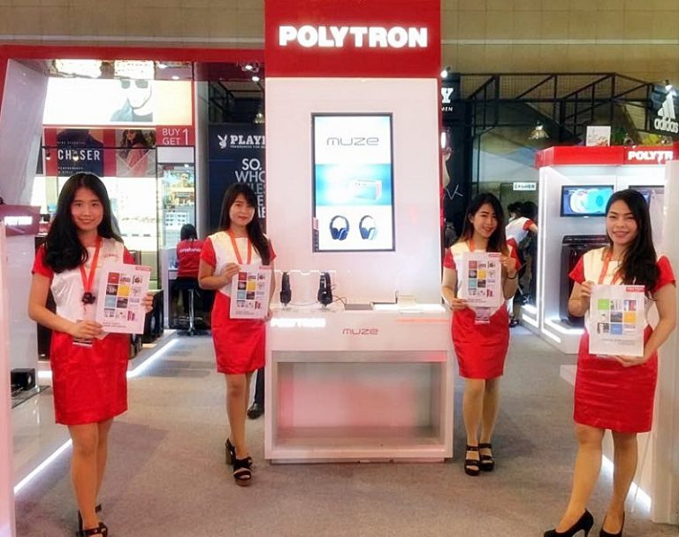Polytron Kembali Ramaikan Jakarta Fair Kemayoran 2017
