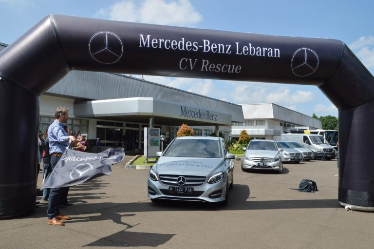 PT Mercedes Benz Indonesia Kembali Gelar Commercial Vehicle Lebaran Rescue 2017