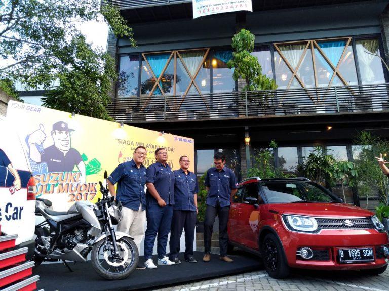 Buat pemudik 2017, Suzuki Siaga Melayani Anda