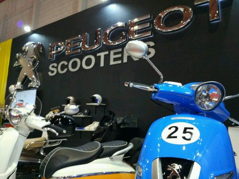 Peugeot Scooters Pertama Kalinya Meramaikan Ajang Jakarta Fair Kemayoran 2017