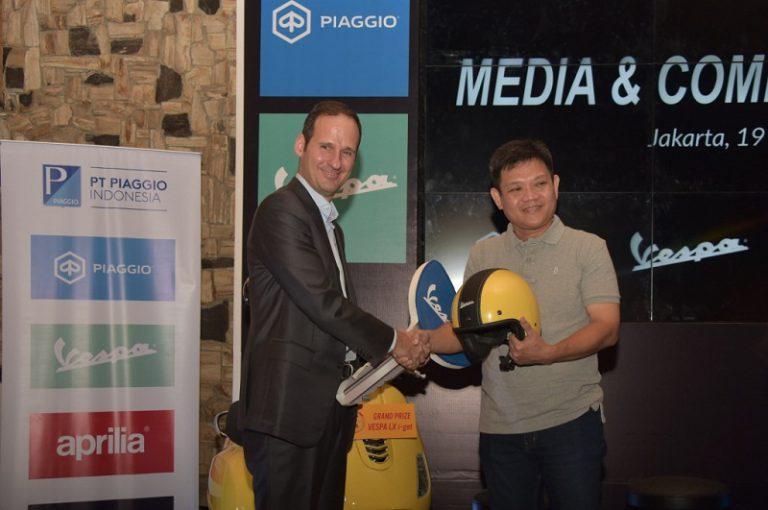 Piaggio Indonesia Umumkan Pemenang Kompetisi #ColorsofVespa: Show Your True Colors