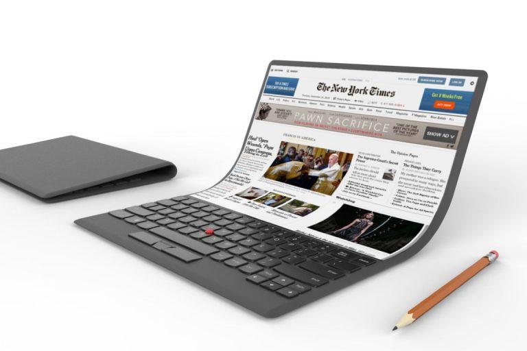 Lenovo Bakal Punya Lini Laptop dengan Layar Fleksibel