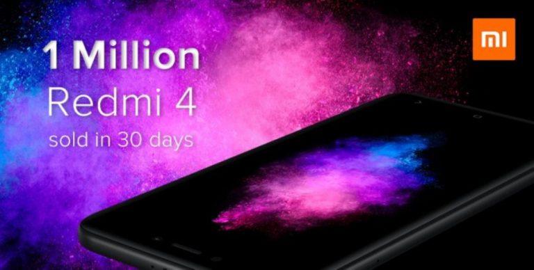 Satu Juta Xiaomi Redmi 4 Terjual dalam Satu Bulan