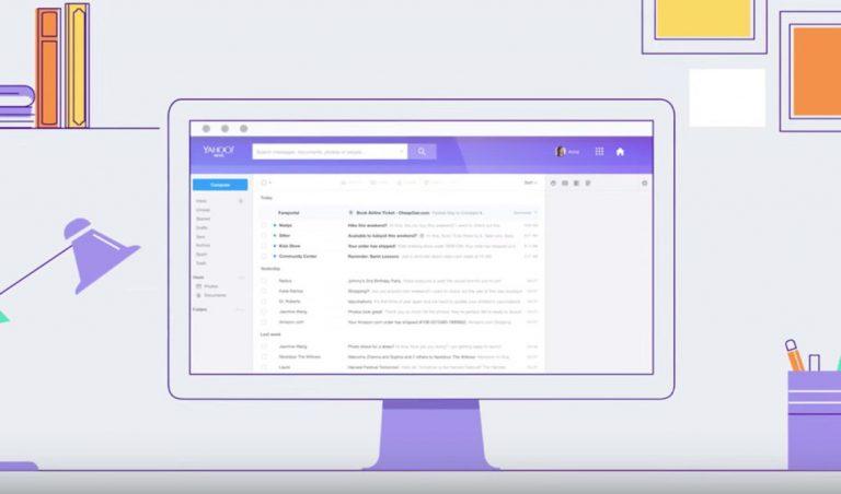 Yahoo Rombak Desain Layanan Emailnya