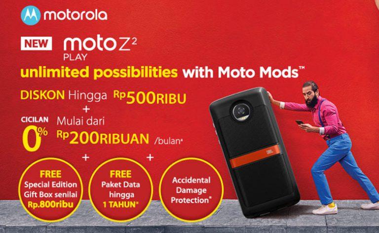 Moto Z2 Play: Pre Order Dibuka Hari Ini, Unit Mulai Didistribusikan 24 Juli 2017