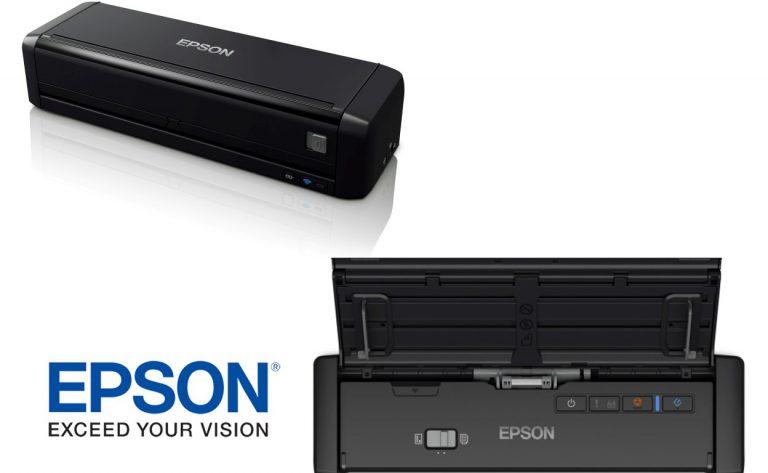 Epson Perkenalkan Dua Pemindai Portabel untuk Mobilitas yang Lebih Luas