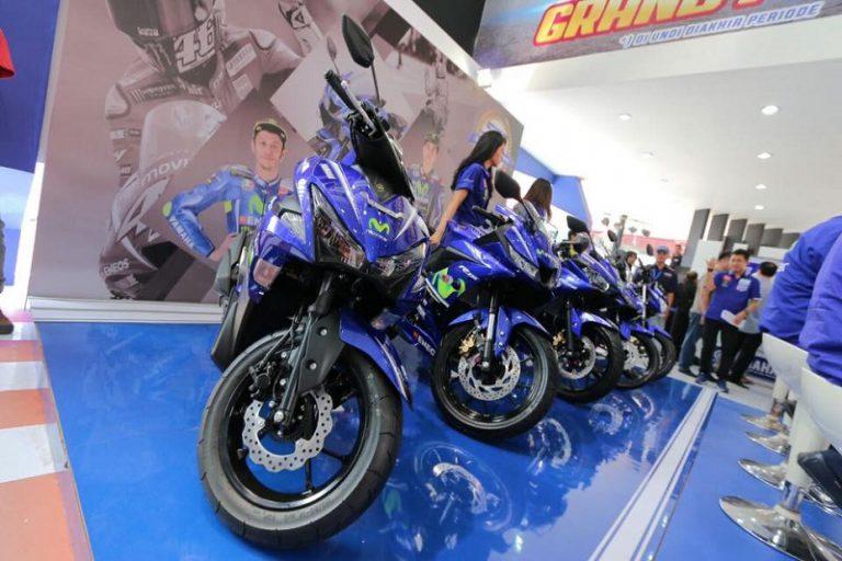 Yamaha Rilis Lima Motor Miliknya dengan Balutan Desain Grafis Movistar