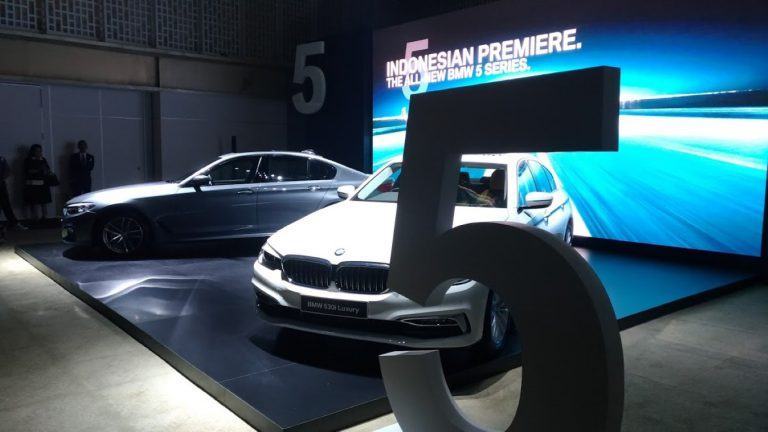 Dirakit Lokal, BMW Group Indonesia Hadirkan Generasi Ketujuh All New BMW 5 Series