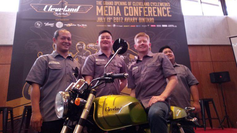 Cleveland CycleWerks Siap Ramaikan Pasar Sepeda Motor di Indonesia