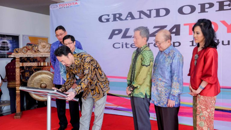 Toyota Buka Outlet Baru di Citeureup Bogor