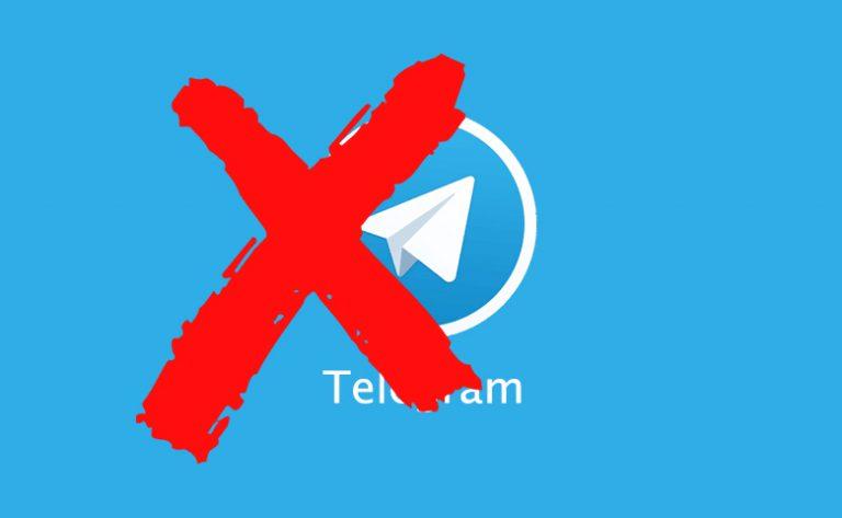 Pemerintah Tutup Layanan Chat Telegram di Indonesia