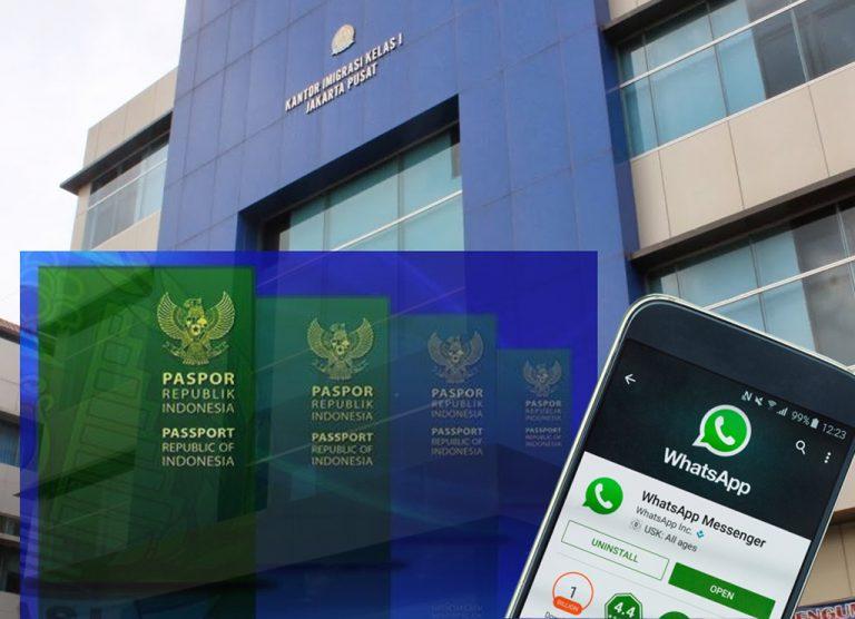 Benahi Pengurusan Paspor, Kantor Imigrasi Kelas I Jakarta Pusat Buka Layanan Antrian via WhatsApp
