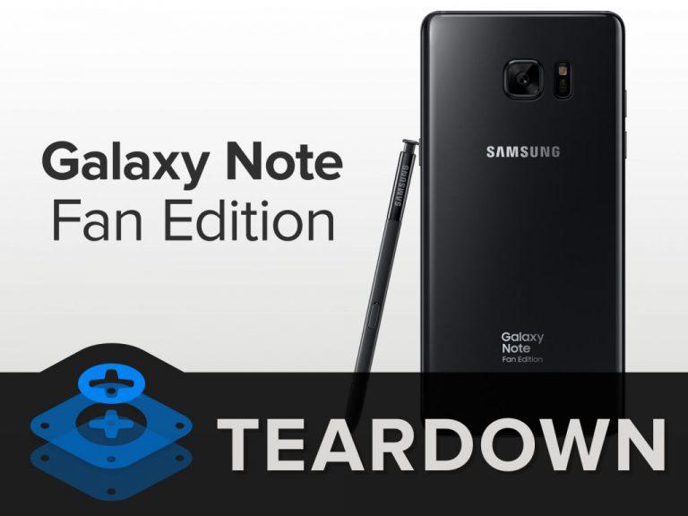 Konfirmasi iFixit: Selain Baterai, Komponen Note FE Identik dengan Note 7