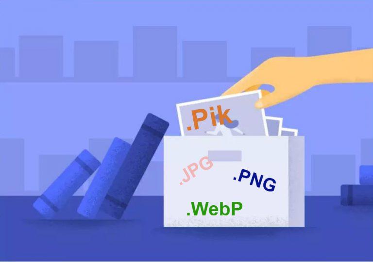 Sudah Punya 'WebP', Google Diketahui Kembangkan Satu Lagi Format Gambar Bernama 'Pik'