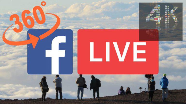 Facebook Live Video 360 Derajat Kini Dapat Disiarkan dalam Resolusi 4K