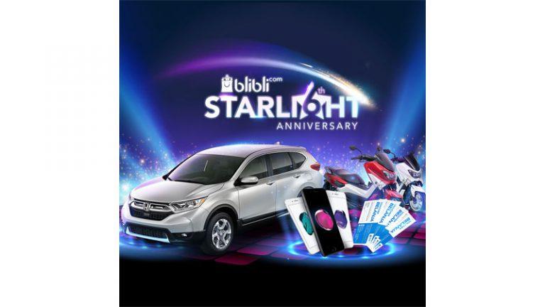 Tertarik Beli Honda CRV Seharga Rp60 Ribu di Blibli.com? Ayo Ikutan Program Ini