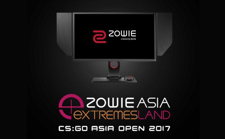 BenQ ZOWIE dan eXTREMESLAND Jadi Sponsor Utama eXTREMESLAND CS:GO Asia Open 2017